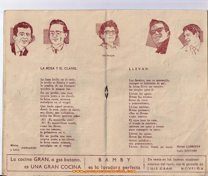 IV FESTIVAL ESPAÑOL DE LA CANCION DE BENIDORM-1962